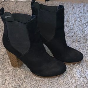Forever 21 black ankle booties
